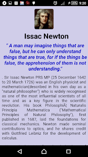 Scientists Inventions & Quotes screenshot