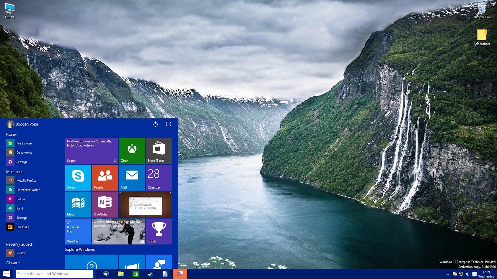 Windows 10: Come eliminare il campo di ricerca