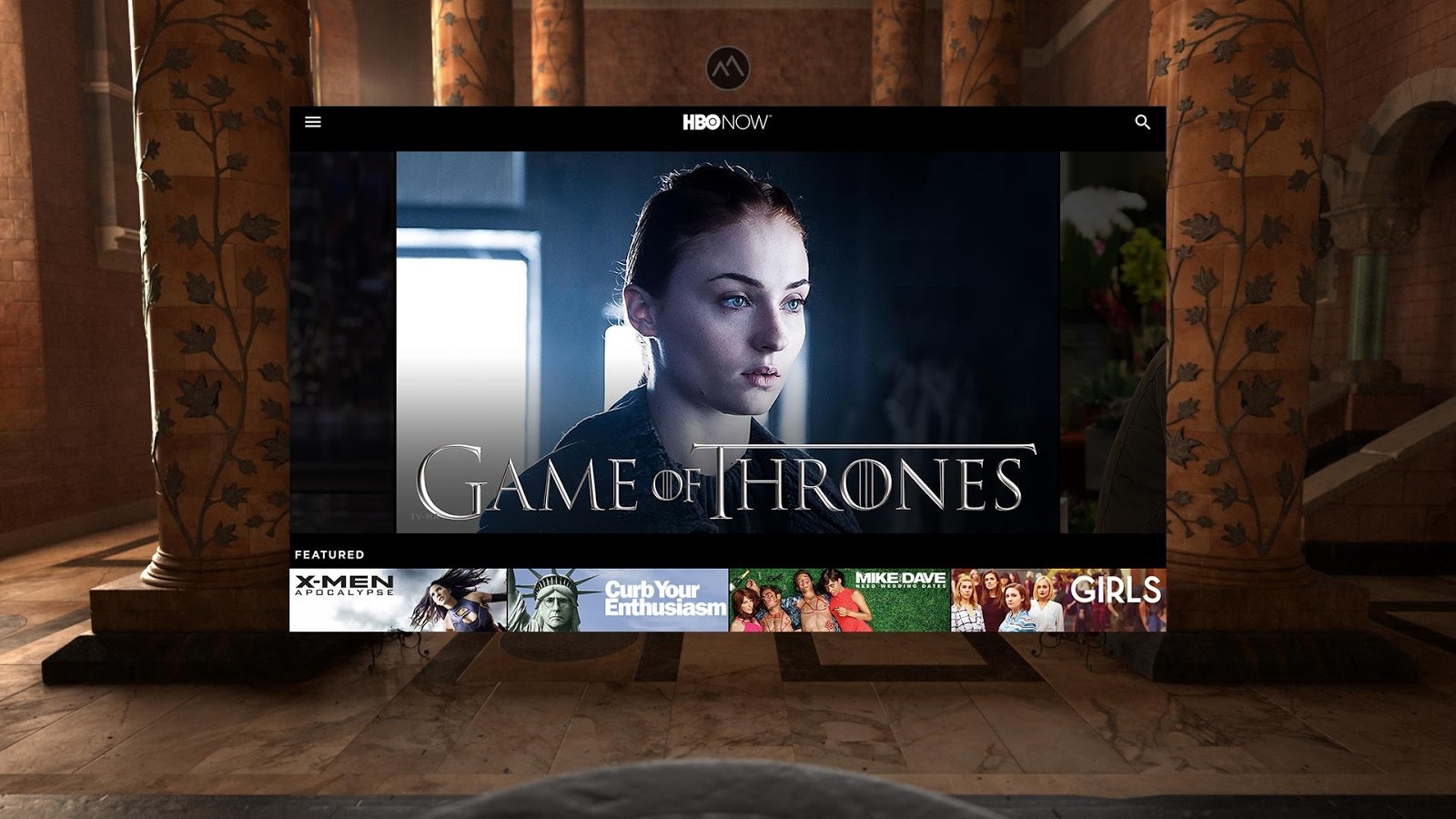 HBO NOW VR- screenshot