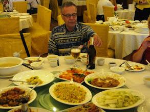 Photo: Kiinalainen lounas (ja kiinalainen olut)