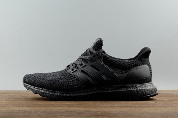 NEW Adidas Ultra Boost 3.0 Triple Black Ultraboost Running Men Women Sport Shoes | eBay