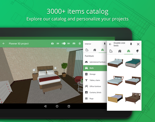 Screenshot for Planner 5D - Home & Interior Design Creator in United States Play Store