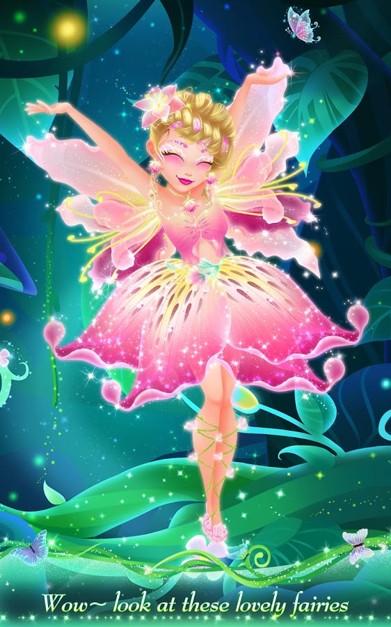 Wondrous Fairy Princess Fashion Design Android Apps On Google Play Short Hairstyles For Black Women Fulllsitofus