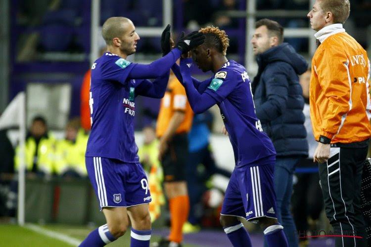 Vier Anderlecht-spelers moeten tegen Charleroi uitkijken, of ze missen de topper van volgende week bij Club Brugge