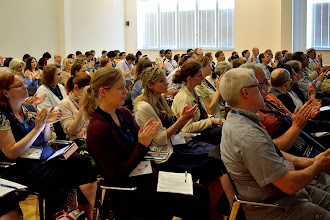 Photo: #eden14 Applause, applause at the end of the last plenary session of the conference Photo by SRCE
