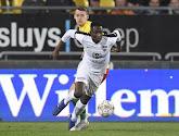 Roman Yaremchuk  ontbreekt bij AA Gent
