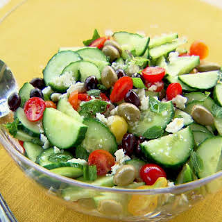 Cinnamon, Apple, Walnut, Kale And Quinoa Salad.