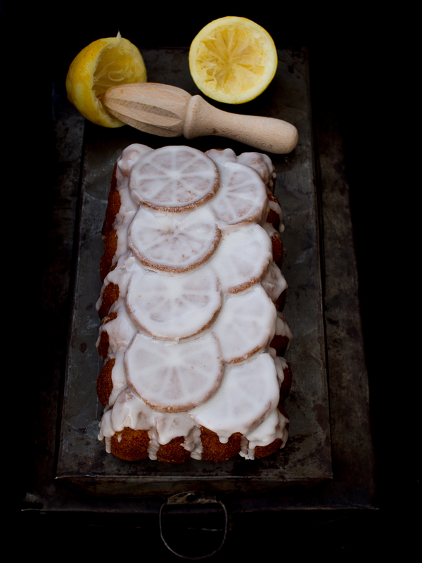 Loaf Cake de limón y miel