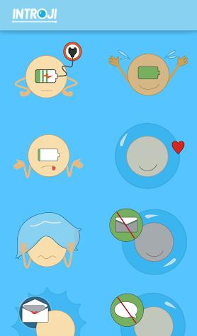 Introji: Emoji for Introverts Screenshot