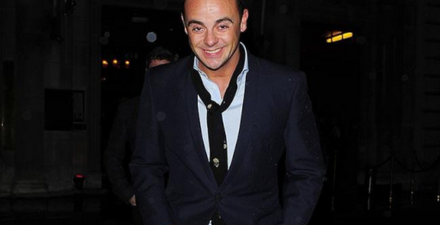 Ant McPartlin checks into rehab