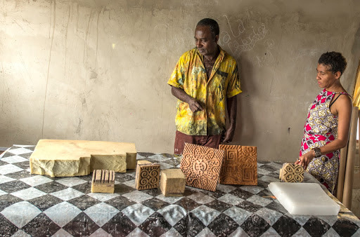 The Creation of Handmade Batik In Ghana - Google Arts & Culture