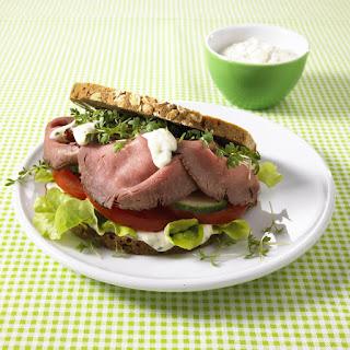 Roast Beef Sandwich.