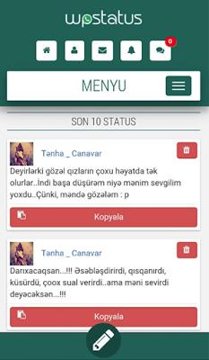 WpStatus - screenshot