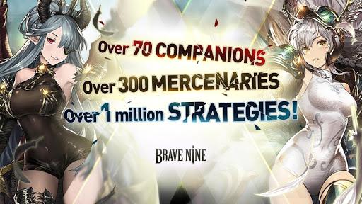 Brave Nine - Tactical RPG apkdebit screenshots 7