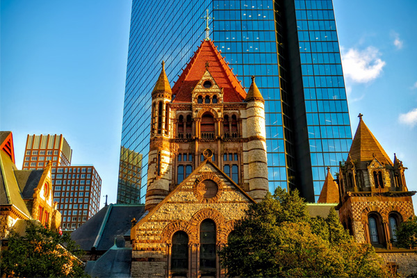 Boston is a city where modern meets history.