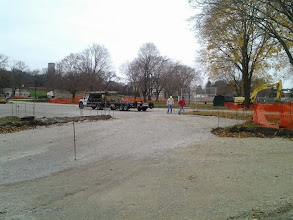 Photo: Prep for curb and gutter 11-11-2013