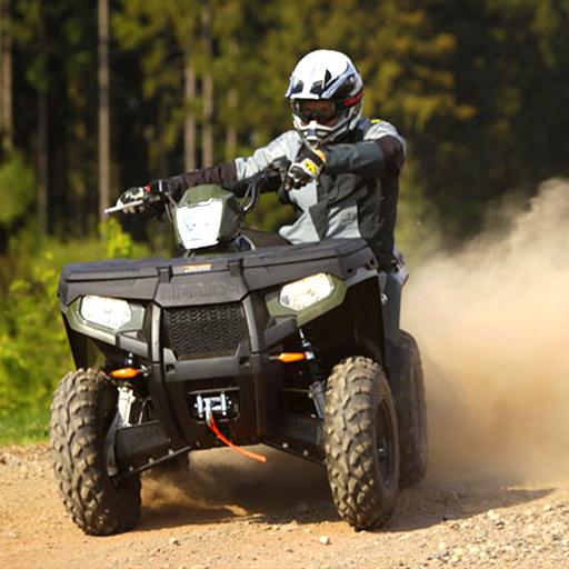 クワッドバイクレース:ATV Offroads 賽車遊戲 LOGO-玩APPs
