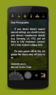 Manual Camera Screenshot