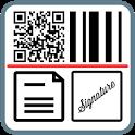 QR Code, Bar Code, Document Scanner & Signature icon