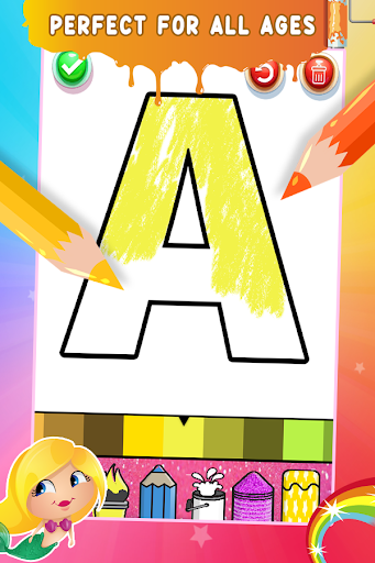 Glitter Number Coloring and Drawing Book For Kids 5.0 screenshots 6