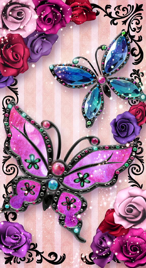 Butterfly Live Wallpaper Trial Android Apps On Google Play