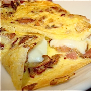 Bacon & Cheddar Omelette A La Carte