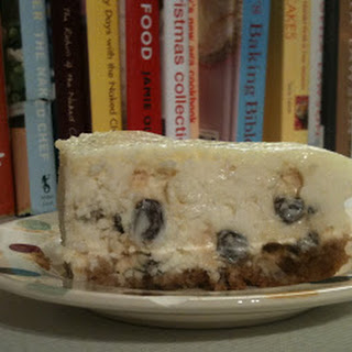 Week 6, Rum & Raisin Cheesecake (Plus link to Mary's Roulade)