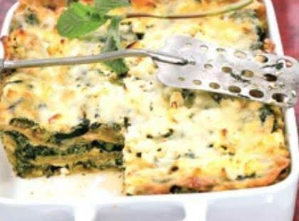Three Cheese Zucchini Lasagna Recipe