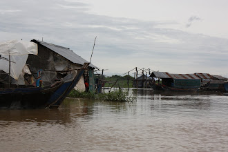 Photo: Year 2 Day 41 -  One of the Floating Villages We Passed
