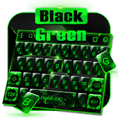 Crystal Green Black Glass Keyboard Theme Android APK Download Free By Bs28patel