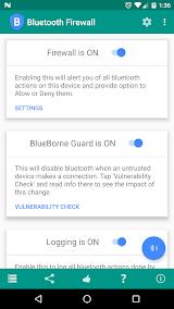 Bluetooth Firewall App-Download APK (com fruitmobile android