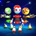 Futuristic Robot Gang Beasts Free:Fight Party Game icon