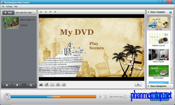 Wondershare DVD Creator Free Download