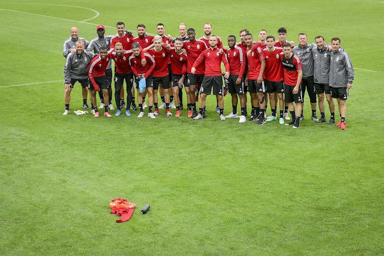 📷 Standard de Liège : 17 joueurs à l'entraînement