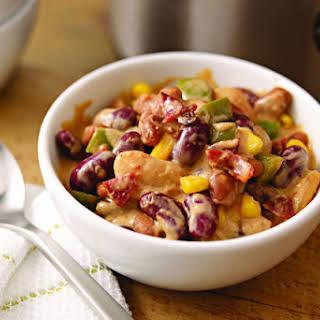 """Santa Fe Slow-Cooker """"Baked"""" Beans."""