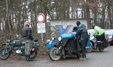 Photo: Auch abseits der Strecke waren interesante Fahrzeuge.