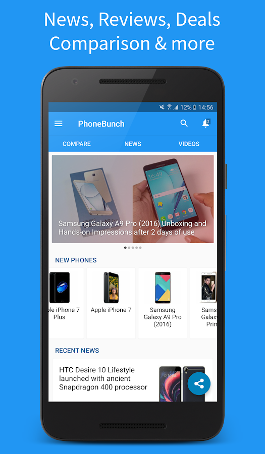 PhoneBunch - All About Phones- screenshot
