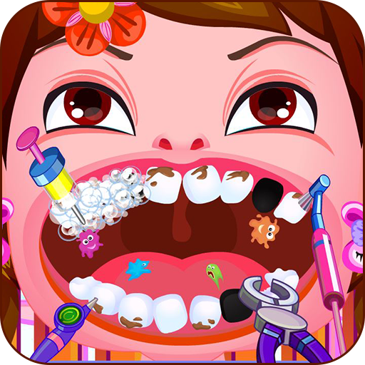 Little mania dentist game Icon