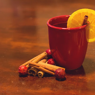 Spiced Cranberry & Orange Cider
