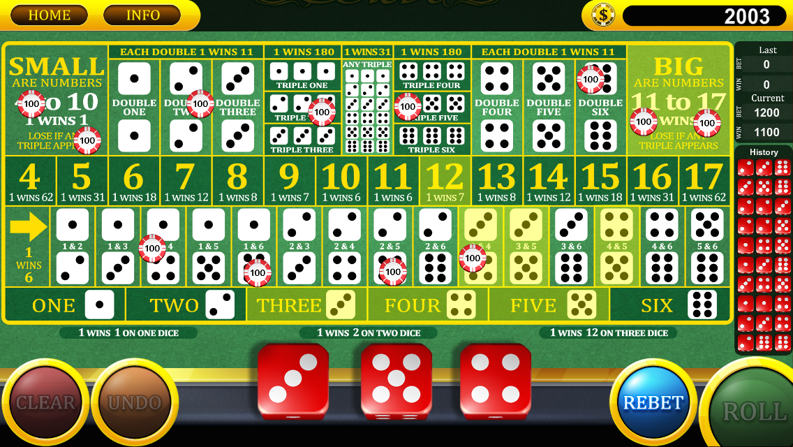 Casino & Gambling Dice Games