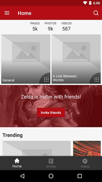 FANDOM for: Zelda Android App Screenshot