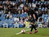 Courtois ontbrak door een blessure tegen Huesca