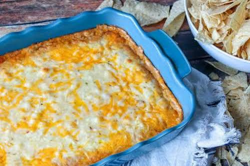 "Texas Trash ""It's one of the best ooey, gooey, cheesy bean dips..."