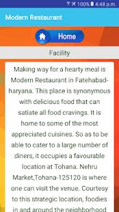 Modern Restaurant - náhled