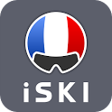 iSKI France - Ski, Snow, Resort info, GPS tracker icon