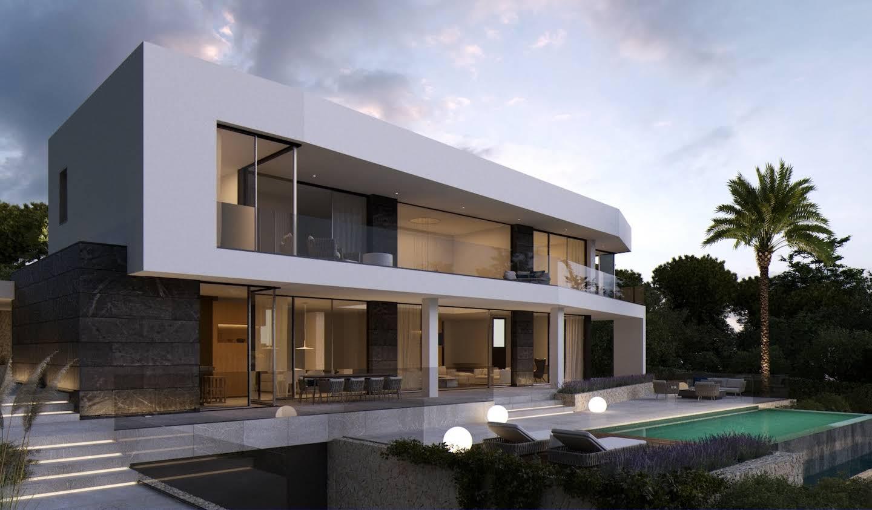 Villa avec piscine en bord de mer Badia de Palma