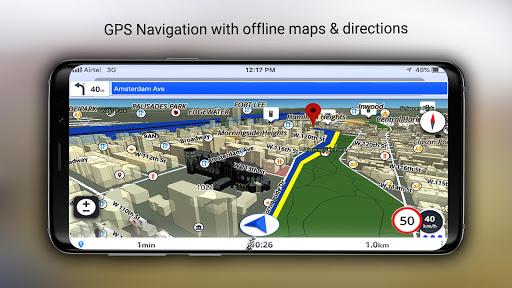 GPS Offline Maps, Directions screenshot 3