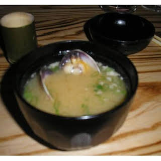 Miso Soup With Nobu.
