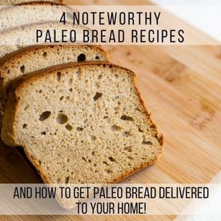 Grain Free Paleo Bread Recipe