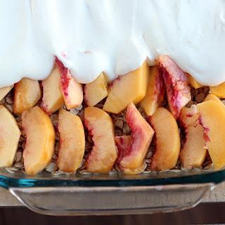 Fresh Peach Torte